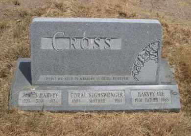 CROSS, CORAL - Banner County, Nebraska | CORAL CROSS - Nebraska Gravestone Photos