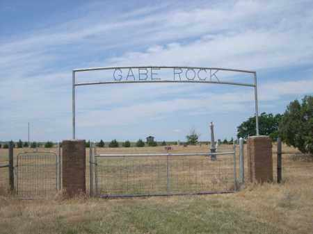 *GABE ROCK CEMETERY, ENTRANCE TO - Banner County, Nebraska | ENTRANCE TO *GABE ROCK CEMETERY - Nebraska Gravestone Photos