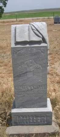 MILLER, WALTER A. - Banner County, Nebraska | WALTER A. MILLER - Nebraska Gravestone Photos