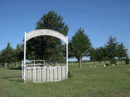 *BREWSTER CEMETERY, ENTRANCE SIGN - Blaine County, Nebraska | ENTRANCE SIGN *BREWSTER CEMETERY - Nebraska Gravestone Photos