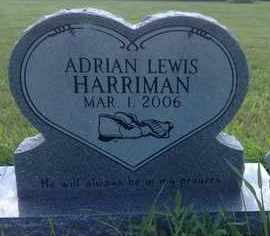 HARRIMAN, ADRIAN LEWIS - Blaine County, Nebraska | ADRIAN LEWIS HARRIMAN - Nebraska Gravestone Photos