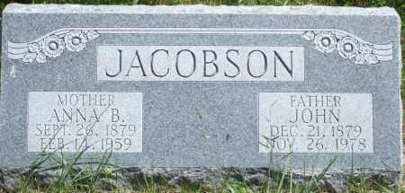 KRUSELL JACOBSON, JOHN - Blaine County, Nebraska | JOHN KRUSELL JACOBSON - Nebraska Gravestone Photos