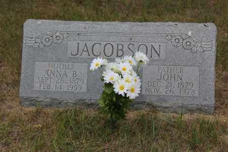 JACOBSON, ANNA B. - Blaine County, Nebraska | ANNA B. JACOBSON - Nebraska Gravestone Photos