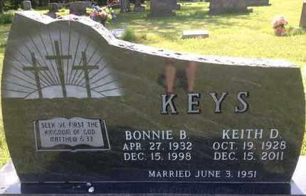 KEYS, KEITH D - Blaine County, Nebraska | KEITH D KEYS - Nebraska Gravestone Photos