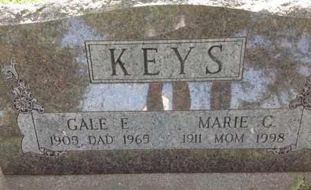 KEYS, MARIE C - Blaine County, Nebraska | MARIE C KEYS - Nebraska Gravestone Photos