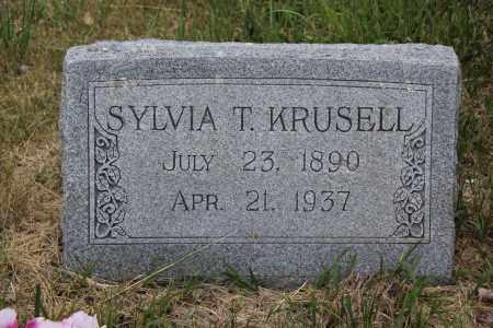 KRUSELL, SYLVIA - Blaine County, Nebraska | SYLVIA KRUSELL - Nebraska Gravestone Photos