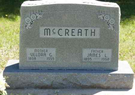 MCCREATH, VELORA G. - Blaine County, Nebraska | VELORA G. MCCREATH - Nebraska Gravestone Photos