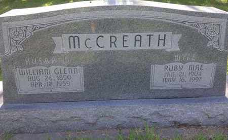 MCCREATH, RUBY MAE - Blaine County, Nebraska | RUBY MAE MCCREATH - Nebraska Gravestone Photos