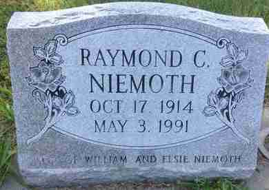 NEIMOTH, RAYMOND C - Blaine County, Nebraska | RAYMOND C NEIMOTH - Nebraska Gravestone Photos