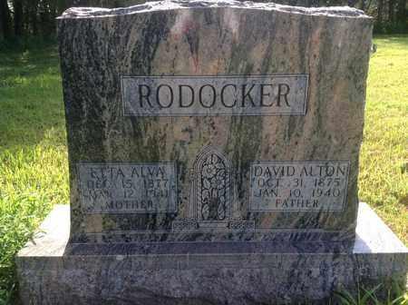 RODOCKER, DAVID ALTON - Blaine County, Nebraska | DAVID ALTON RODOCKER - Nebraska Gravestone Photos