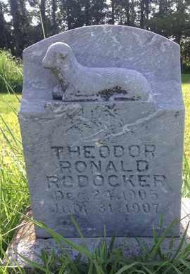 RODOCKER, THEODOR RONALD - Blaine County, Nebraska   THEODOR RONALD RODOCKER - Nebraska Gravestone Photos
