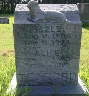 TEAFORD, ALICE - Blaine County, Nebraska   ALICE TEAFORD - Nebraska Gravestone Photos