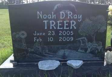 TREER, NOAH D RAY - Blaine County, Nebraska | NOAH D RAY TREER - Nebraska Gravestone Photos