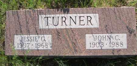 TURNER, JESSIE G. - Blaine County, Nebraska | JESSIE G. TURNER - Nebraska Gravestone Photos
