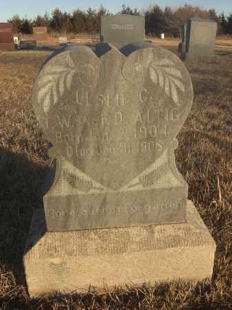 ALTIG, LESLIE C. - Boone County, Nebraska   LESLIE C. ALTIG - Nebraska Gravestone Photos