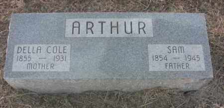 ARTHUR, DELLA COLE - Boone County, Nebraska | DELLA COLE ARTHUR - Nebraska Gravestone Photos