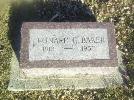BAKER, LEONARD - Boone County, Nebraska   LEONARD BAKER - Nebraska Gravestone Photos