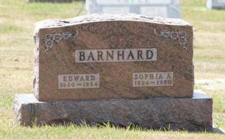 BARNHARD, SOPHIA A. - Boone County, Nebraska | SOPHIA A. BARNHARD - Nebraska Gravestone Photos
