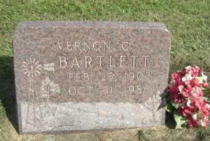 BARTLETT, VERNON C. - Boone County, Nebraska | VERNON C. BARTLETT - Nebraska Gravestone Photos