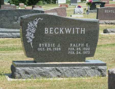 BECKWITH, RALPH E. - Boone County, Nebraska | RALPH E. BECKWITH - Nebraska Gravestone Photos