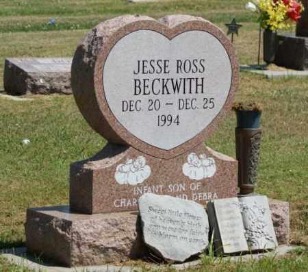BECKWITH, JESSE ROSS - Boone County, Nebraska | JESSE ROSS BECKWITH - Nebraska Gravestone Photos