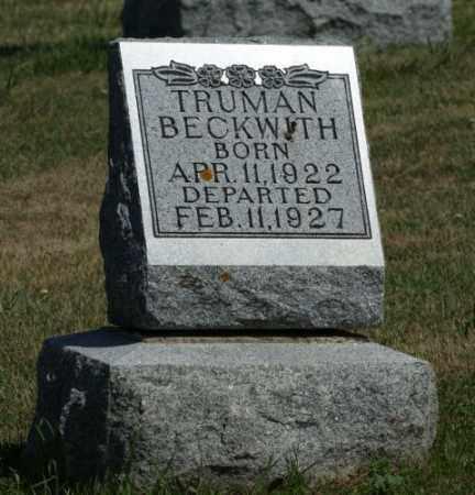 BECKWITH, TRUMAN - Boone County, Nebraska | TRUMAN BECKWITH - Nebraska Gravestone Photos