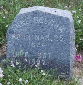 BELGUM, ANNE - Boone County, Nebraska | ANNE BELGUM - Nebraska Gravestone Photos