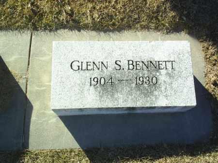 BENNETT, GLENN - Boone County, Nebraska   GLENN BENNETT - Nebraska Gravestone Photos
