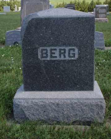 BERG, FAMILY - Boone County, Nebraska | FAMILY BERG - Nebraska Gravestone Photos