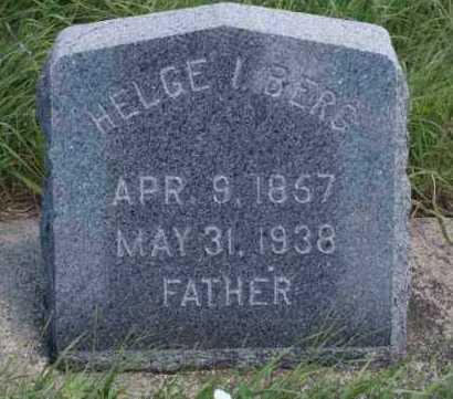BERG, HELGE I. - Boone County, Nebraska   HELGE I. BERG - Nebraska Gravestone Photos