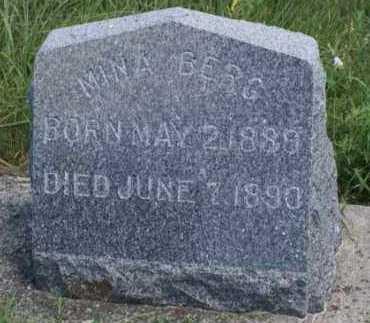 BERG, MINA - Boone County, Nebraska   MINA BERG - Nebraska Gravestone Photos