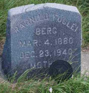 FUGLEI BERG, RAGNILD - Boone County, Nebraska | RAGNILD FUGLEI BERG - Nebraska Gravestone Photos