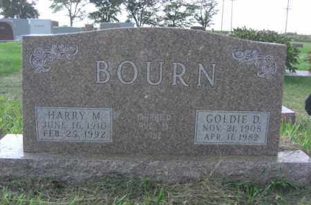 BOURN, HARRY MERLE - Boone County, Nebraska | HARRY MERLE BOURN - Nebraska Gravestone Photos