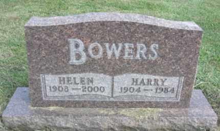 BOWERS, HARRY - Boone County, Nebraska   HARRY BOWERS - Nebraska Gravestone Photos
