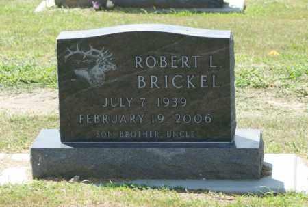 BRICKEL, ROBERT L. - Boone County, Nebraska | ROBERT L. BRICKEL - Nebraska Gravestone Photos
