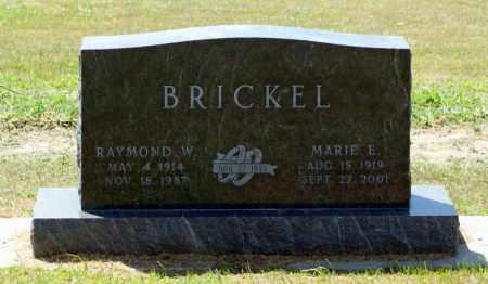 BRICKEL, RAYMOND W. - Boone County, Nebraska | RAYMOND W. BRICKEL - Nebraska Gravestone Photos