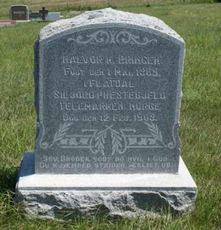 BRINGEN, HALVOR K. - Boone County, Nebraska | HALVOR K. BRINGEN - Nebraska Gravestone Photos