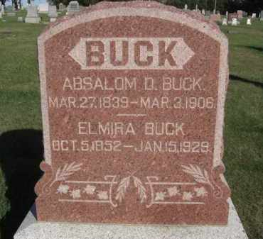 BUCK, ELMIRA - Boone County, Nebraska | ELMIRA BUCK - Nebraska Gravestone Photos