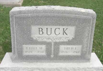 BUCK, FREDERICK EUGENE - Boone County, Nebraska   FREDERICK EUGENE BUCK - Nebraska Gravestone Photos