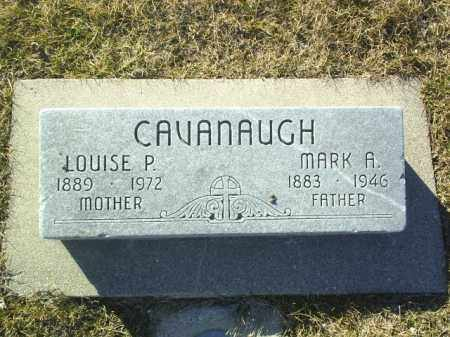 CAVANAUGH, MARK - Boone County, Nebraska | MARK CAVANAUGH - Nebraska Gravestone Photos
