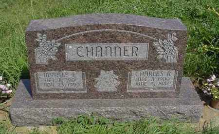 CHANNER, CHARLES R. - Boone County, Nebraska   CHARLES R. CHANNER - Nebraska Gravestone Photos