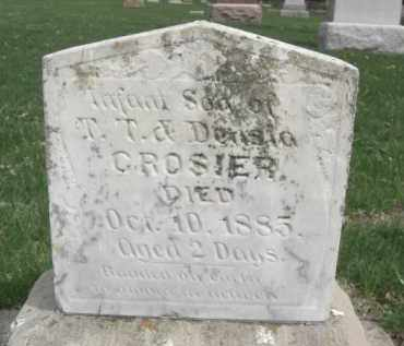 CROSIER, CASSIUS CLINTON - Boone County, Nebraska | CASSIUS CLINTON CROSIER - Nebraska Gravestone Photos