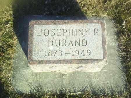DURAND, JOSEPHINE - Boone County, Nebraska | JOSEPHINE DURAND - Nebraska Gravestone Photos