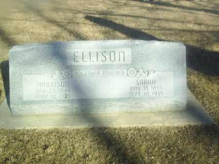 ELLISON, HARRISON - Boone County, Nebraska   HARRISON ELLISON - Nebraska Gravestone Photos