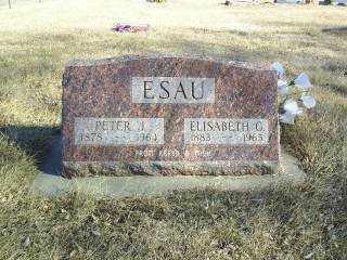 ESAU, PETER - Boone County, Nebraska   PETER ESAU - Nebraska Gravestone Photos
