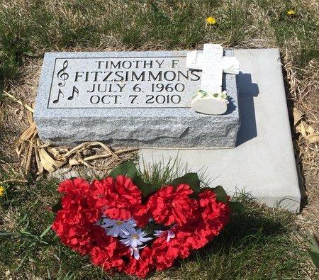FITZSIMMONS, TIMOTHY F - Boone County, Nebraska | TIMOTHY F FITZSIMMONS - Nebraska Gravestone Photos