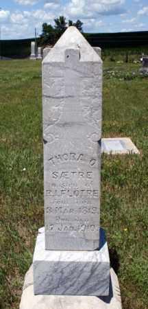 FLOTRE, THORA O. - Boone County, Nebraska | THORA O. FLOTRE - Nebraska Gravestone Photos