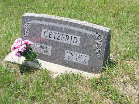 GETZFRID, JACOB LAWRENCE - Boone County, Nebraska | JACOB LAWRENCE GETZFRID - Nebraska Gravestone Photos