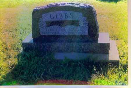 GIBBS, FRED - Boone County, Nebraska   FRED GIBBS - Nebraska Gravestone Photos