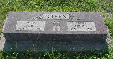 CROSIER GREEN, EDITH E. - Boone County, Nebraska | EDITH E. CROSIER GREEN - Nebraska Gravestone Photos